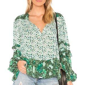New Winona Spell Blouse in Ivy